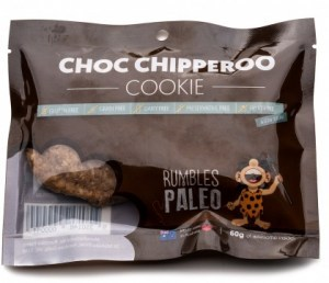 Rumbles Paleo Choc Chipperoo Cookie 60g