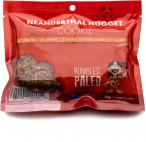 Rumbles Paleo Neanderthal Nugget Cookies 74g