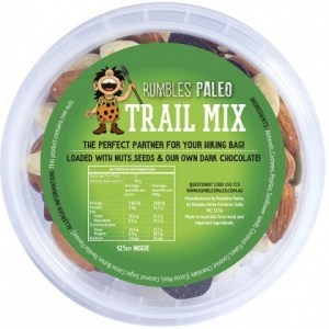 Rumbles Paleo Trail Mix 125g Tub
