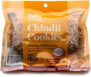 Rumbles Pete Evans Chindii Cookies 60g