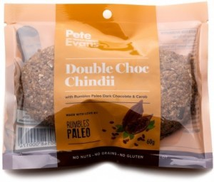 Rumbles Peter Evans Double Choc Chindii Cookie (2x30g)  60g