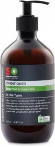 Saba Organics Conditioner Bergamot & Green Tea 500ml