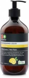 Saba Organics Dishwashing Liquid Lemon Blast 500ml