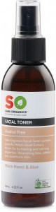 Saba Organics Facial Toner Witch Hazel & Aloe 125ml
