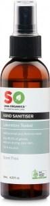 Saba Organics Hand Sanitiser Scent Free 125ml
