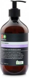 Saba Organics Hand Wash Lavender & Bamboo Exfoliant 500ml