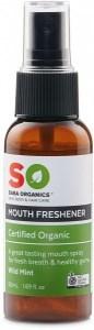 Saba Organics Mouth Freshener Wild Mint 50ml