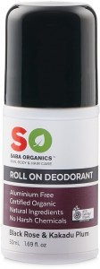 Saba Organics Roll On Deodorant Blackrose & Kakadu Plum 50ml