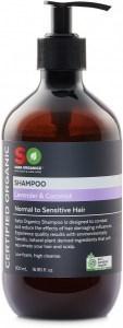 Saba Organics Shampoo Lavender & Coconut 500ml