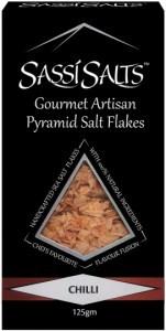 Sassi Salts Gourmet Artisan Pyramid Salts Chilli 125g
