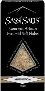 Sassi Salts Gourmet Artisan Pyramid Salts Mushroom 125g