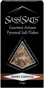 Sassi Salts Gourmet Artisan Pyramid Salts Smoky Chipotle 125g