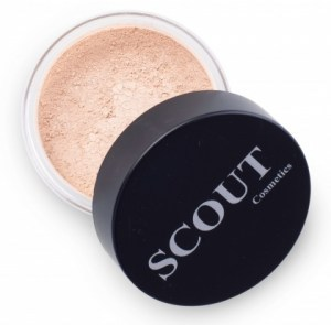 Scout Cosmetics Foundation Mineral Powder Shell 8g
