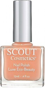Scout Cosmetics Nail Polish Vegan Peach Pony 12ml