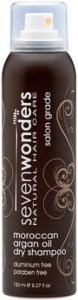 Seven Wonders Moroccan Argan Oil Dry Shampoo 150ml