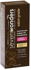 Seven Wonders Moroccan Argan Oil Light Spray 125ml