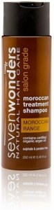 Seven Wonders Moroccan Argan Oil Shampoo 250ml