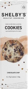 Shelby's Healthy Hedonism Chocolate Chip (8x15g) Cookies  120g