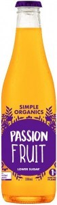 Simple Organic Sodas Passionfruit 12x330ml