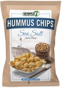 Simply 7 Hummus w/Sea Salt Chips 142g