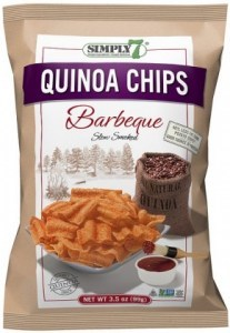 Simply 7 Quinoa w/Barbeque Chips 99g