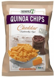 Simply 7 Quinoa w/Cheddar Chips 99g