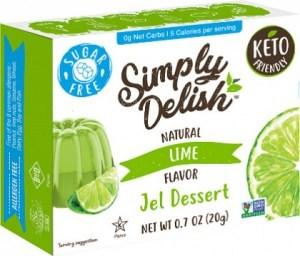 Simply Delish Lime Jel Dessert  20g