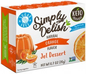 Simply Delish Orange Jel Dessert  20g