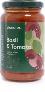 Slendier Basil Italian Sauce 340g