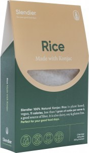 Slendier Konjac Rice 400g
