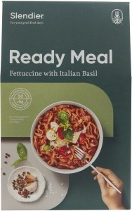 Slendier Ready Meal Fettuccine with Basil Sauce 310g