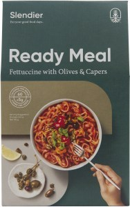 Slendier Ready Meal Fettuccine with Italian Capers & Olives Sauce 310g