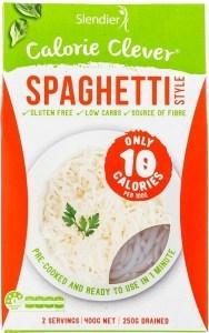 Slendier Slim Pasta Spaghetti Gluten Free 12x400g