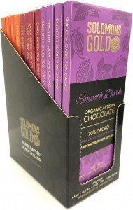 Solomons Mixed Box A (Orange,Berry,Smooth)70%  12x55g