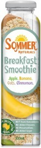 Sommer Naturals Breakfast Smoothie 12x300ml SEP17