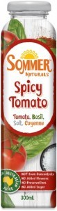 Sommer Naturals Spicy Tomato 12 x 300ml