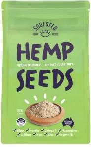 Soul Seed Hemp Seeds 350g