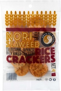 Spiral Crunchy Nori Rice Crackers  50g