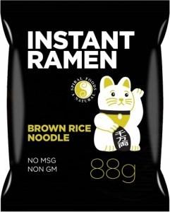 Spiral Instant Ramen Brown Rice Noodle 88g