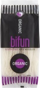 Spiral Organic Bifun Noodles 200g