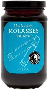 Spiral Organic Blackstrap Molasses  Glass 470g
