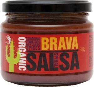 Spiral Organic Brava Salsa Spicy 300g