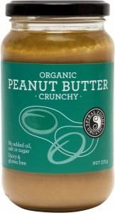 Spiral Organic Crunchy Peanut Butter  Glass 375g