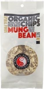 Spiral Organic Mungbean Chips  50g