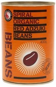Spiral Organic Red Adzuki Beans  400g