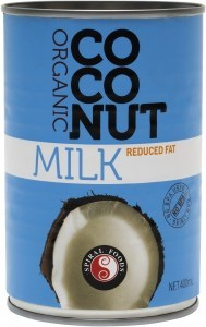 Spiral Organic Reduced Fat Coconut Milk  400ml