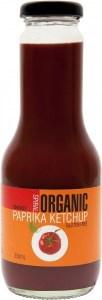 Spiral Organic Smokey Paprika Tomato Ketchup  Glass 350ml