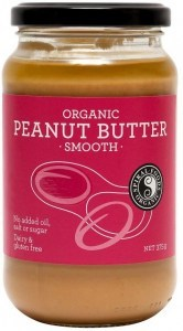 Spiral Organic Smooth Peanut Butter  Glass 375g