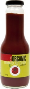 Spiral Organic Tomato Ketchup  Glass 350ml