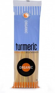 Spiral Organic Turmeric Rice Noodle 250g